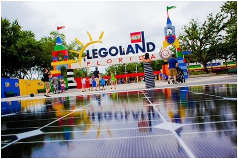 Legoland Florida Entrance (Photo Credit: Inhabitat.com)