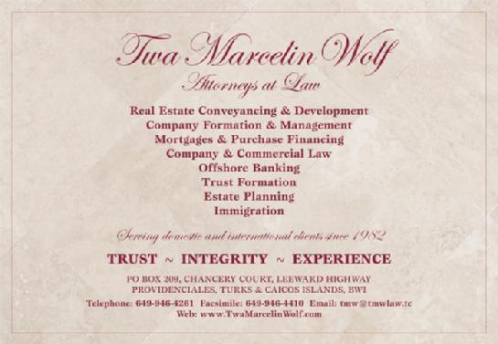 Turks and Caicos Reef Fund TWA Marcelin Wolf Attorneys