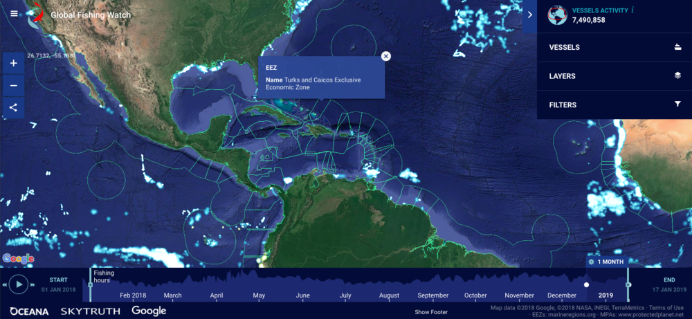 global fishing map