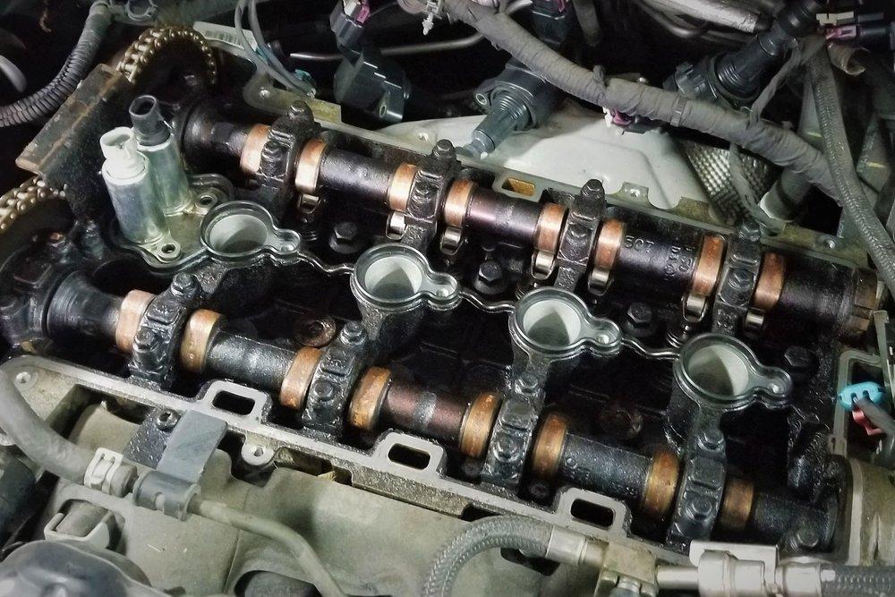 mechanical malfunction camshafts