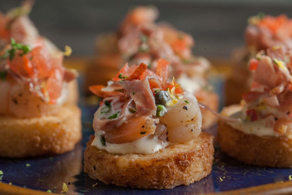 Shrimp & Grits Cake with Capers, Crispy Proscuitto & Aioli.jpg