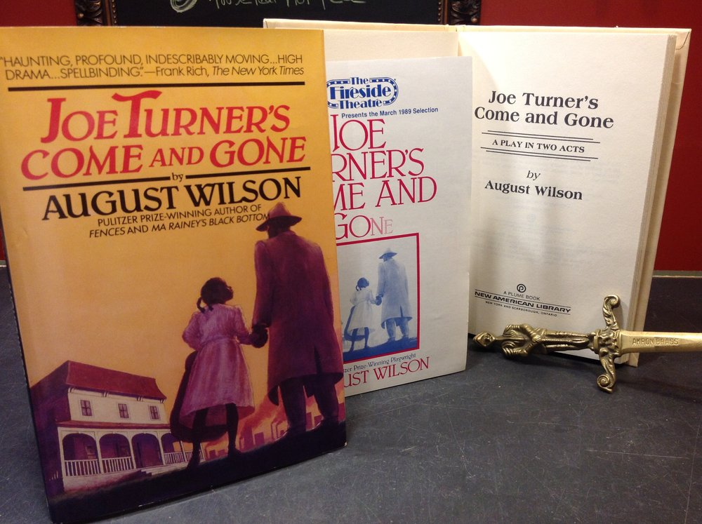 Joe Turner's Come and Gone by Pulitzer Prize-winning playwright August Wilson - 1988 First Hardcover Edition with Fireside Theatre playbill insert.