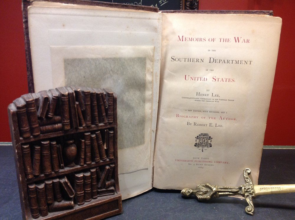 Memoirs of the War in the Southern Department of the United States by Henry Lee - 1869, Second Edition, University Publishing Company. memoirs by Revolutionary War Hero Henry