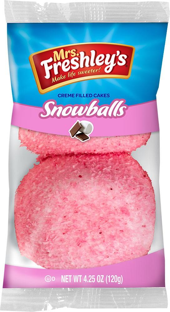 Pink Snowballs