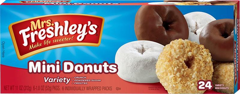 Variety Mini Donuts Box