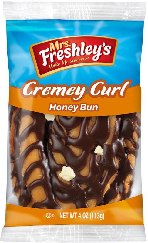 Cremey Curl Honey Bun