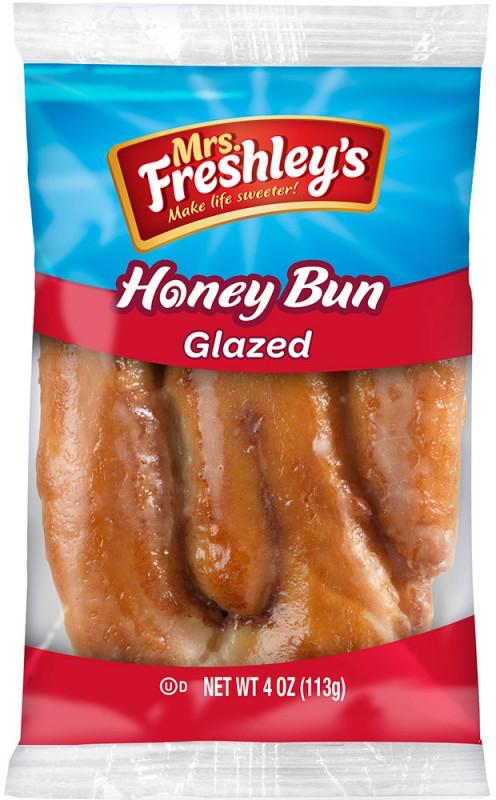Glazed Honey Bun 4oz
