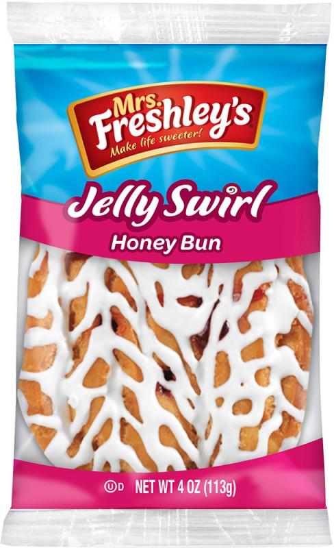 Jelly Swirl Honey Bun