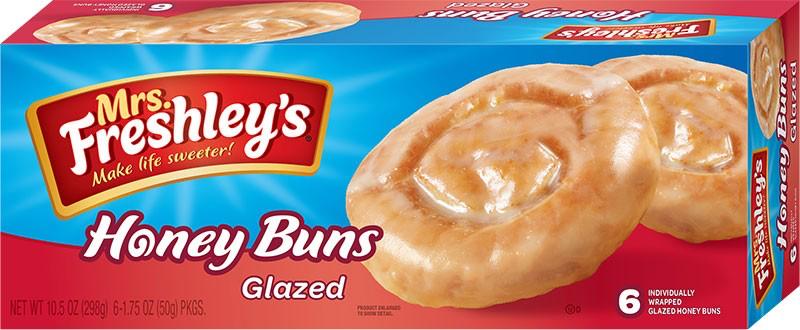 Glazed Honey Buns