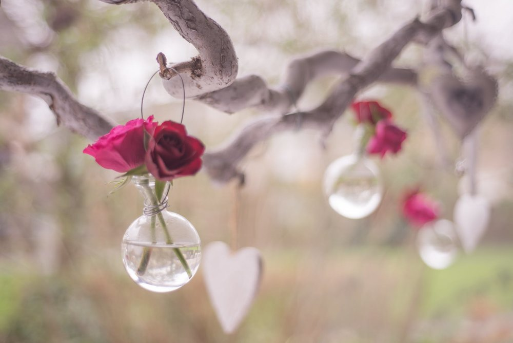 Now these are super cute and can be reused all year round. Hang them outside or around the house either way they are very Valentine's  Day decor  that everyone can do.