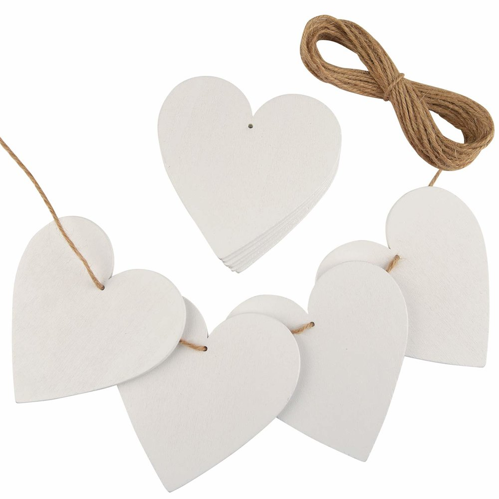 Wooden Hearts -$8
