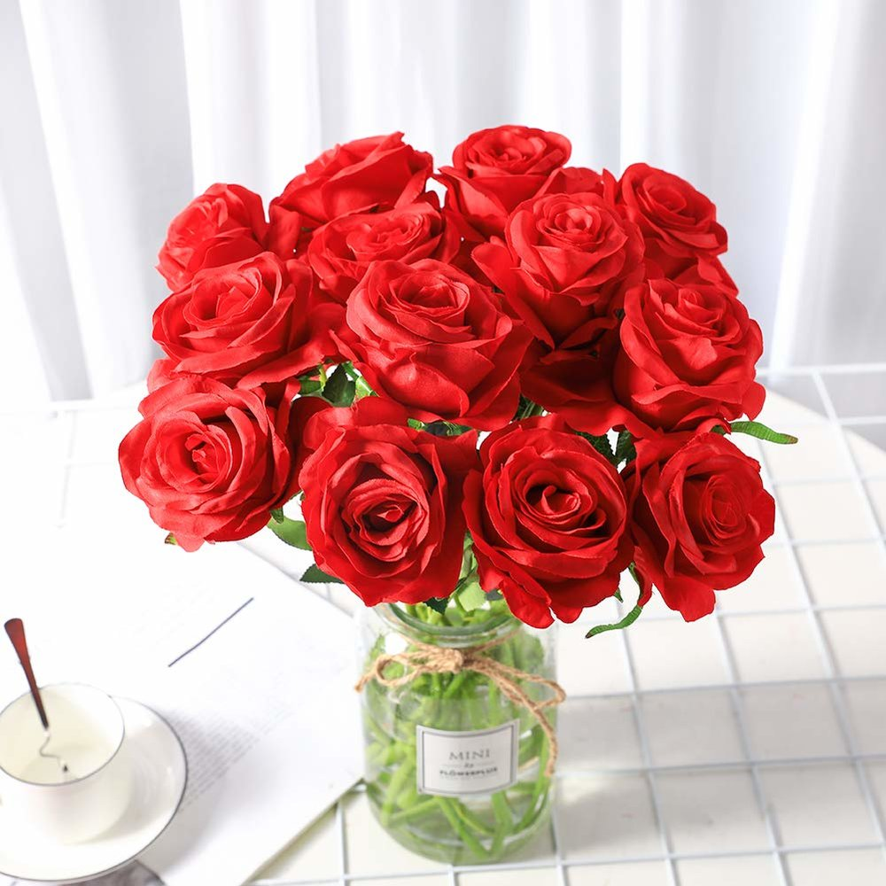 Realistic Red Roses -$12
