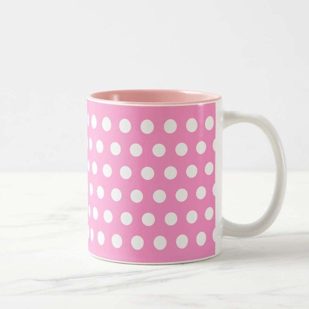 Polka Dot Mug -$10