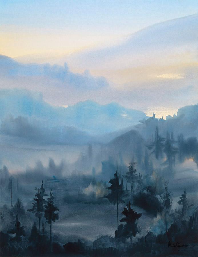 Midnight Pines Reverie I