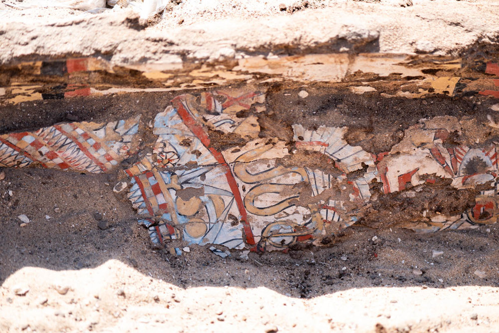 Fig. 3. Interior coffin detail. Photo: Ayman Damarany / North Abydos Expedition © 2019