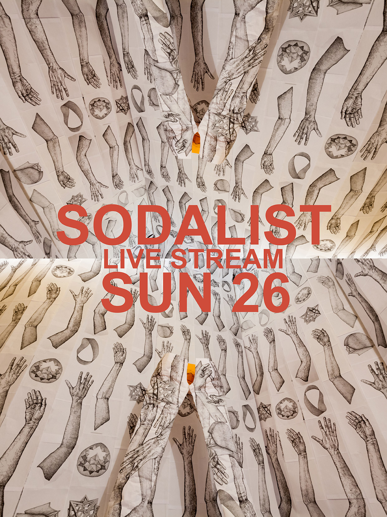 Sodalist!  Ingredients of a Subway Car will Throw Objects Down the Rabbit Hole.  THIS Weekend - SUNDAY Feb 26  LIVE STREAM starting 5 AM EST