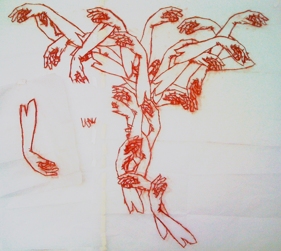 Mirena Rhee - Hands Tree