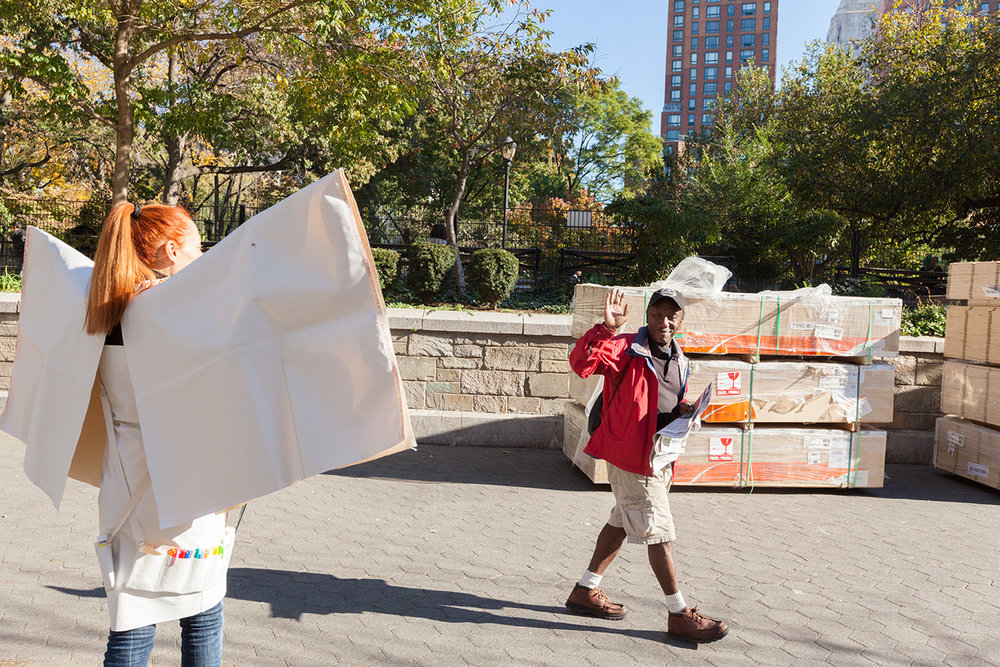 Memory Replacement – Election Day performance on Union Square