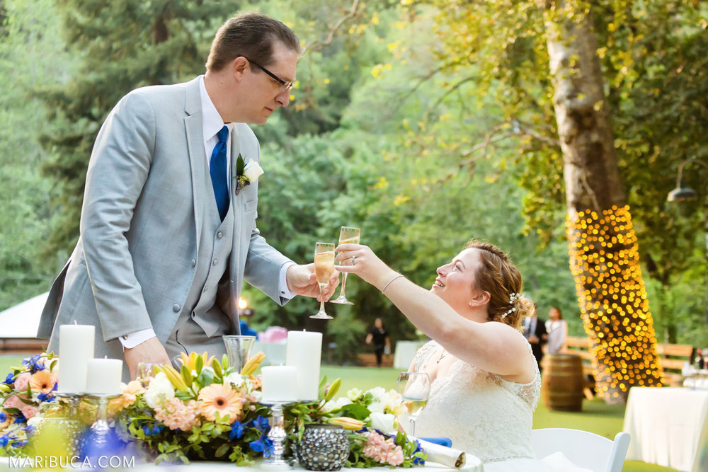 The bride and the groom celebrated the wedding day in the adorable venue in the Saratoga Springs Wedding