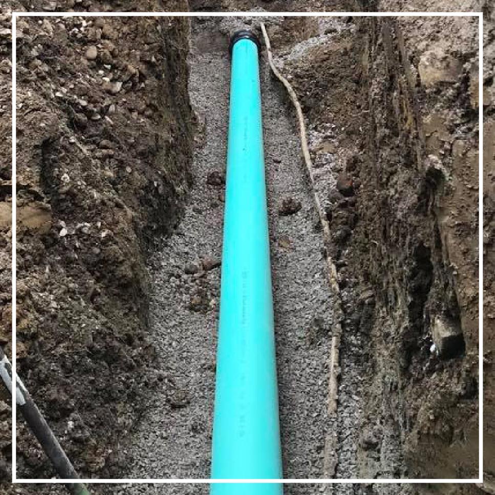 Waterline Sewers Conduit Installation -