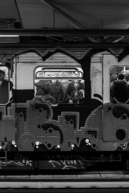 Railway car.