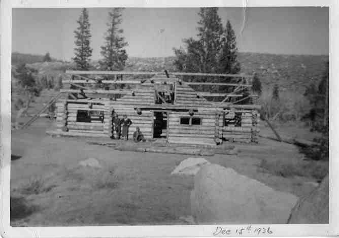 Cabin Construction-1936