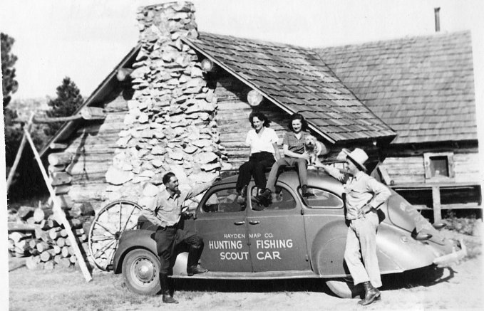 Emmett, Margaret, and Friends-1930's