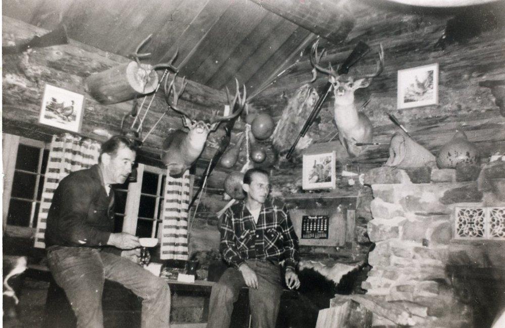 Emmett and Friend-1940's