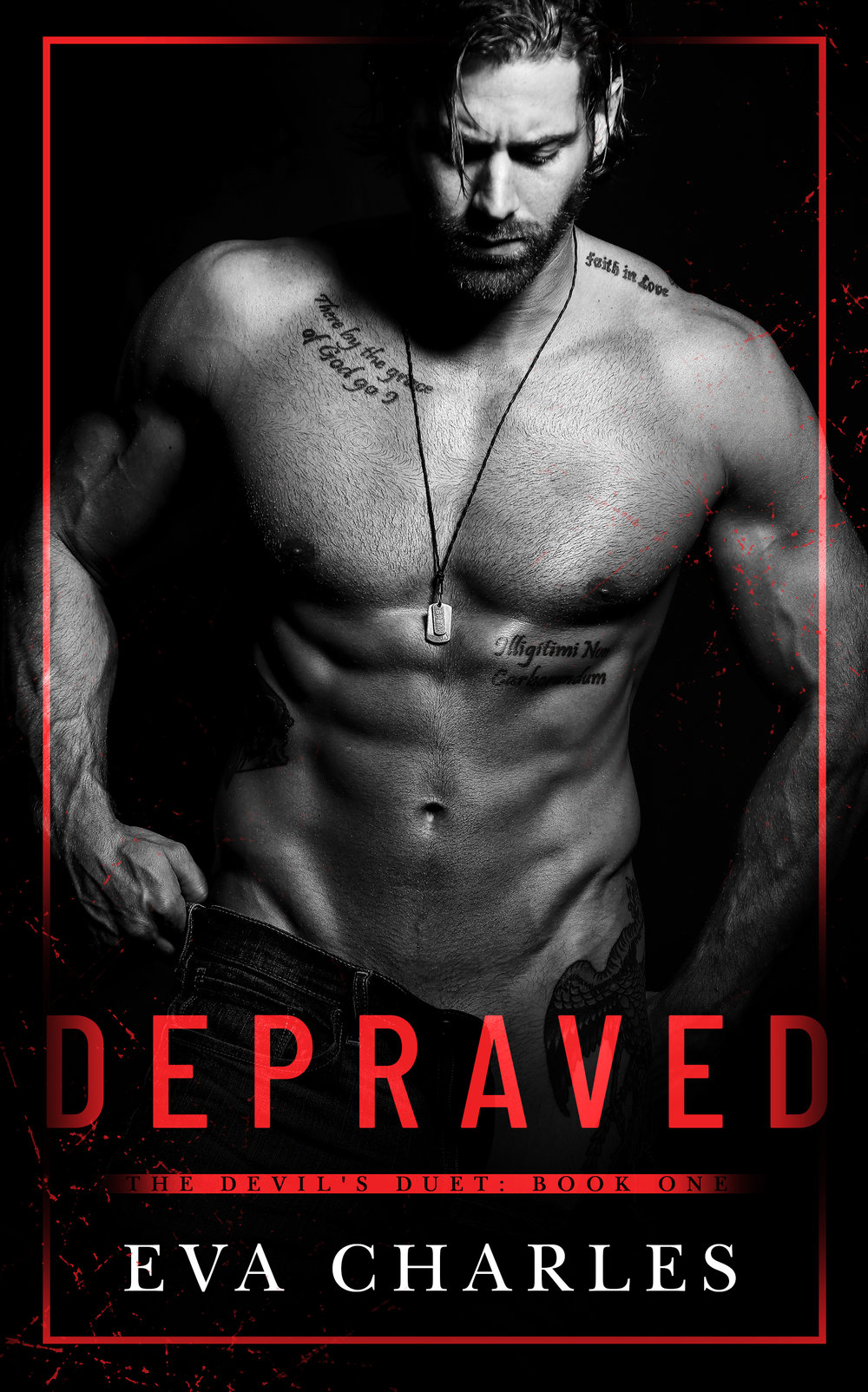 ON FEBRUARY 21MEET J.D. WILDER - IF YOU DARE.DEPRAVED BY EVA CHARLESBook One in The Devil's DuetCover Design: Letitia Hasser, RBA DesignsPhotographer: Wander AguiarModel: Zack Salaun