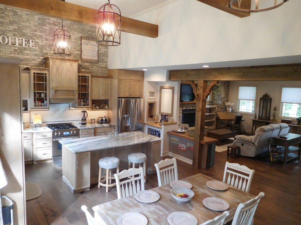 OPEN BEAMS…ROOMS FULL OF LIGHT… - ROOMS WITH TEXTURE AND DESIGN IS WHAT YOU WILL FIND IN OUR TIMBER/BARN STYLE HOMES.
