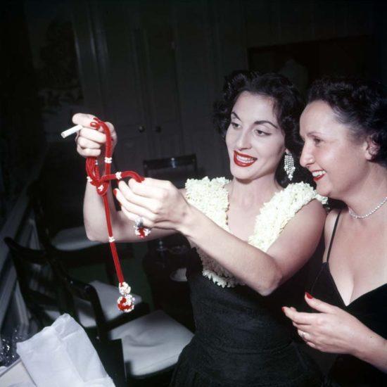 Pilar Wayne and Mary St. John. Photo courtesy of John Wayne Enterprises