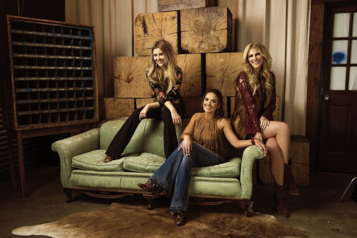 "Band ""Runaway June"" featuring Jennifer Wayne, John Wayne's granddaughter. Photo courtesy of John Wayne Enterprises"