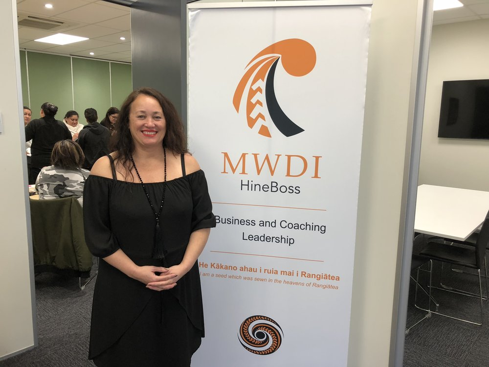 MWDI - I have a coaching contract with MWDI (Maori Woman Development Inc) to empower, educate and inspire Wahine Maori in their business economic development and sustainability. It is incredibly inspiring working within my own culture and contributing to their personal and business development.