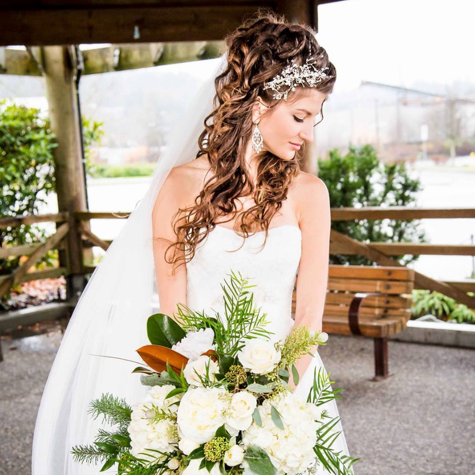 Each bride is unique and has an idea with how she wants to look on her day. I take into consideration… -