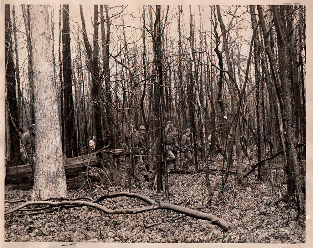 The Search for Mared and Karen, April 1970 - Police comb the woods south of Morgantown, West Virginia, looking for any trace of the two WVU freshmen.