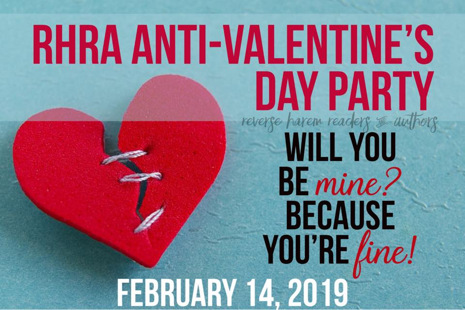 On Valentines Day at MIDNIGHT CENTRAL , 1AM EST I will be in Reverse Harem Readers and Authors FB group playing games, coming up with bad pickup lines for dogs, and giving away all kinds of stuff. Be there or Be Square!  https://www.facebook.com/groups/ReverseHaremRA/