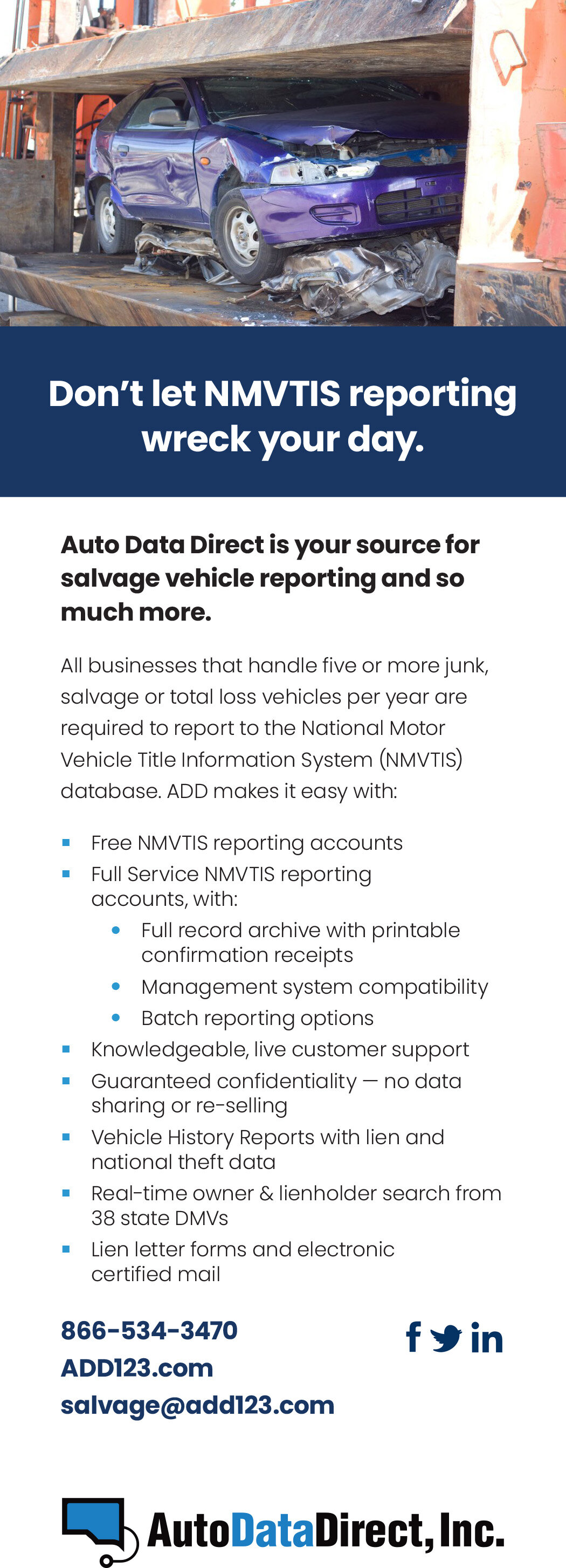 Auto Data Direct >> Auto Recyclers Toolbox