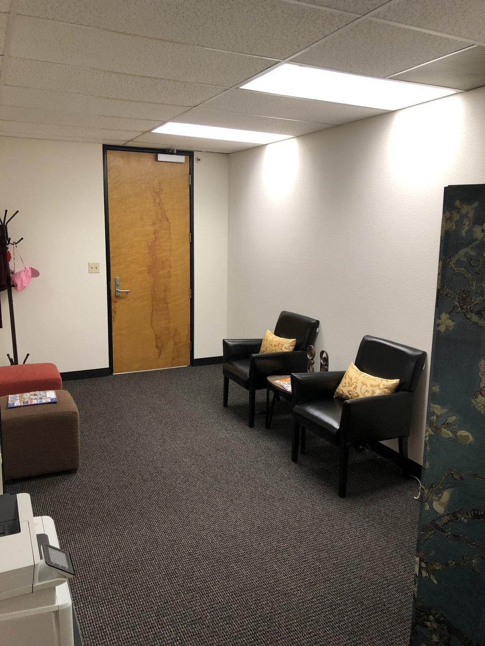 New reception area - Dr. Saori's Office