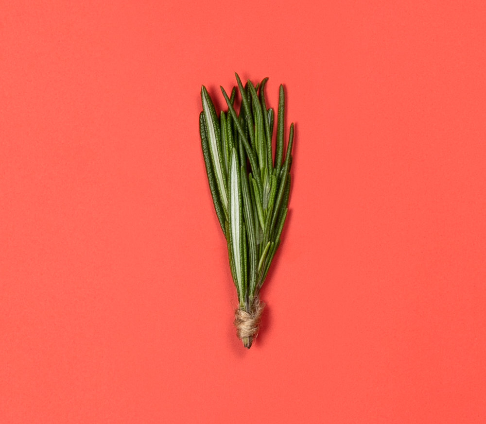 - Organic Rosemary contains natural antiseptic properties, functioning as a chemical-free disinfectant for your skin.