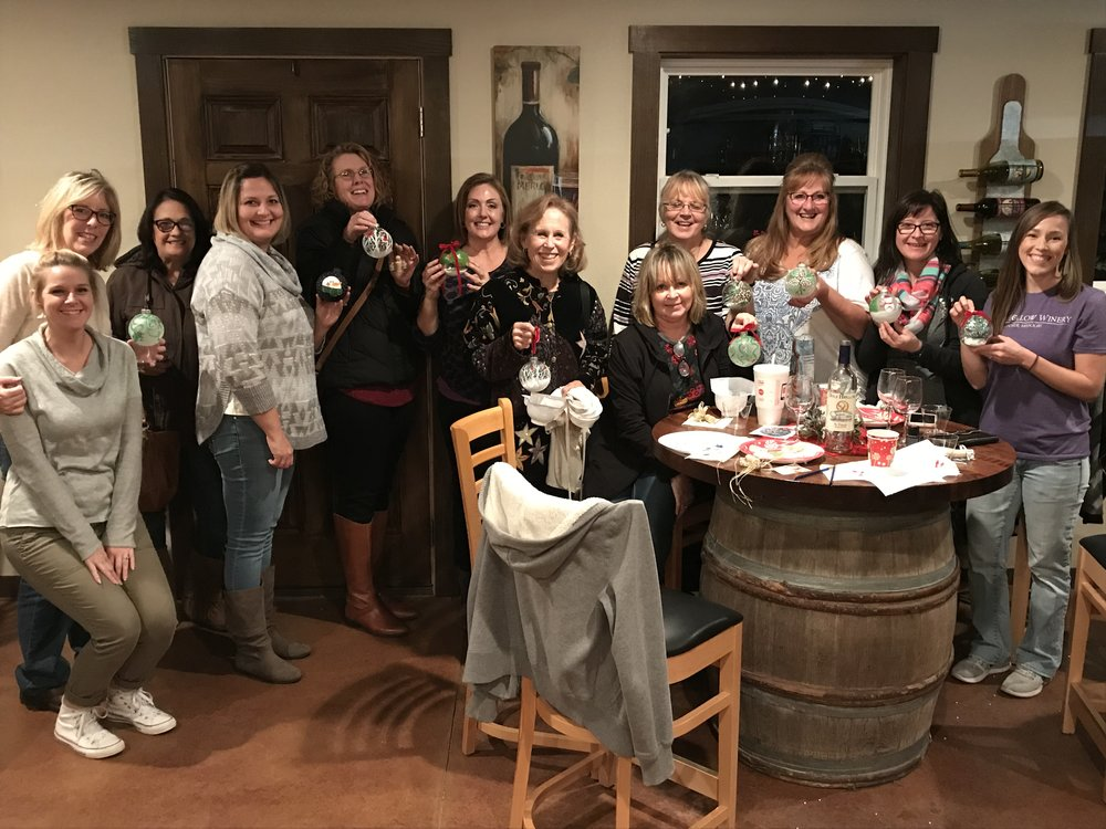 Small Groups - The tasting room area can accommodate 12-15 people comfortably. Generally, smaller groups do not need to worry about renting the winery, but you can contact us beforehand to make sure your gathering goes as smoothly as possible.