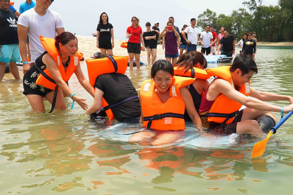 Team building - With over 20 activities up our sleeve, you choose the fun you want to have