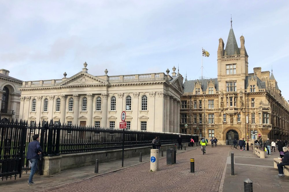 Senate House and Gonville and Caius College, Cambridge