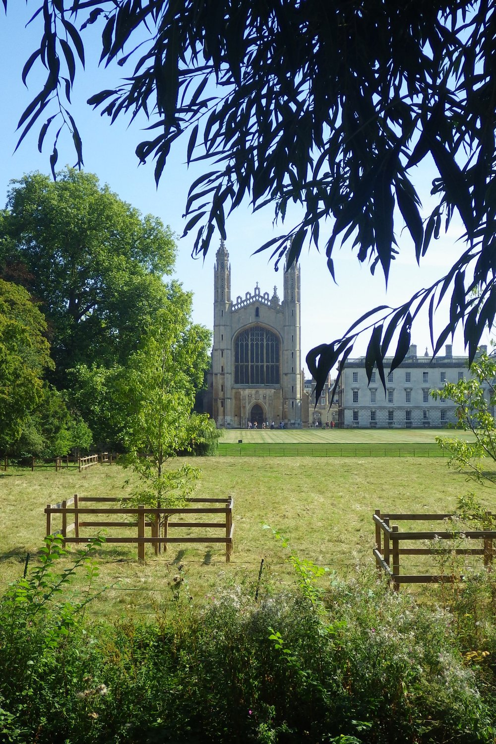 King's College Chapel, Cambridge, from the Backs