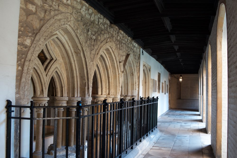 Cloister Court, Jesus College, Cambridge
