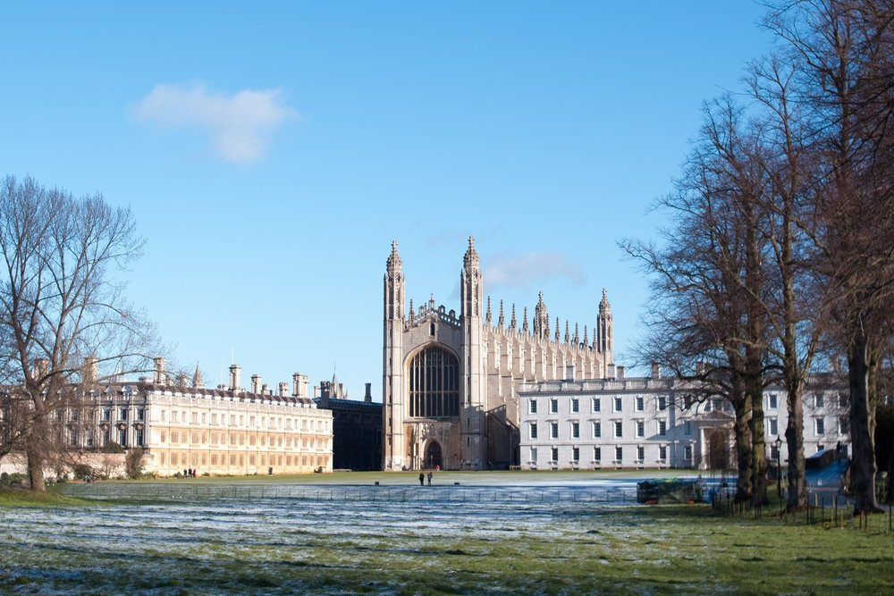 King's College Chapel, Cambridge, seen from the Backs