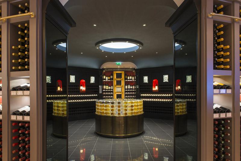 La Bordeauthèque des Galeries Lafayette Gourmet