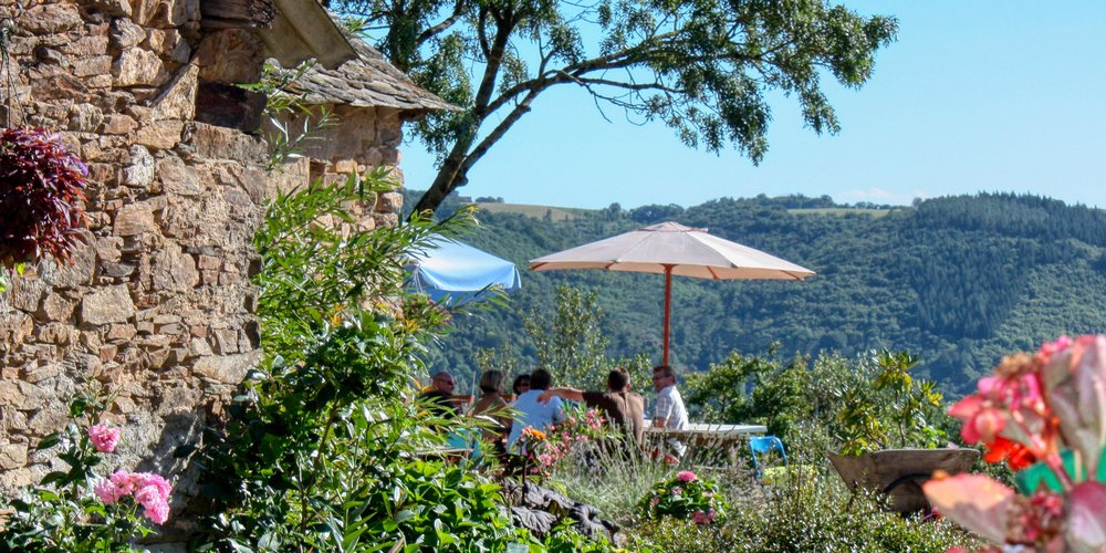 A relaxed environment with a stunning view, Bleuet has been host to many occasions with friends