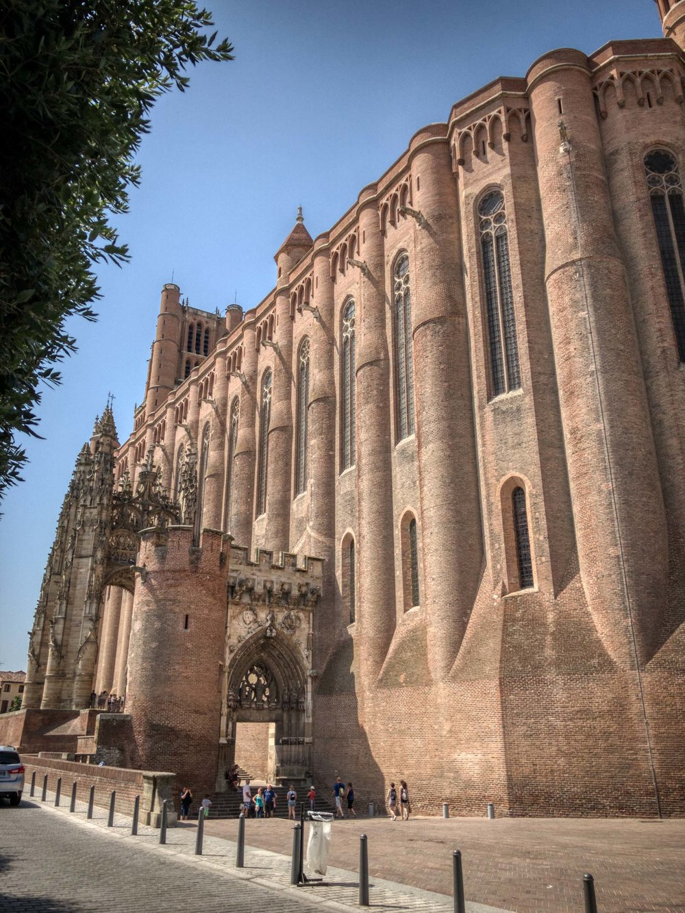 Copy of Albi Cathedral entrance