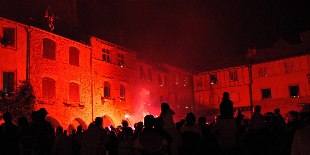 Sauveterre-de-Rouergue hosts a Festival of Light