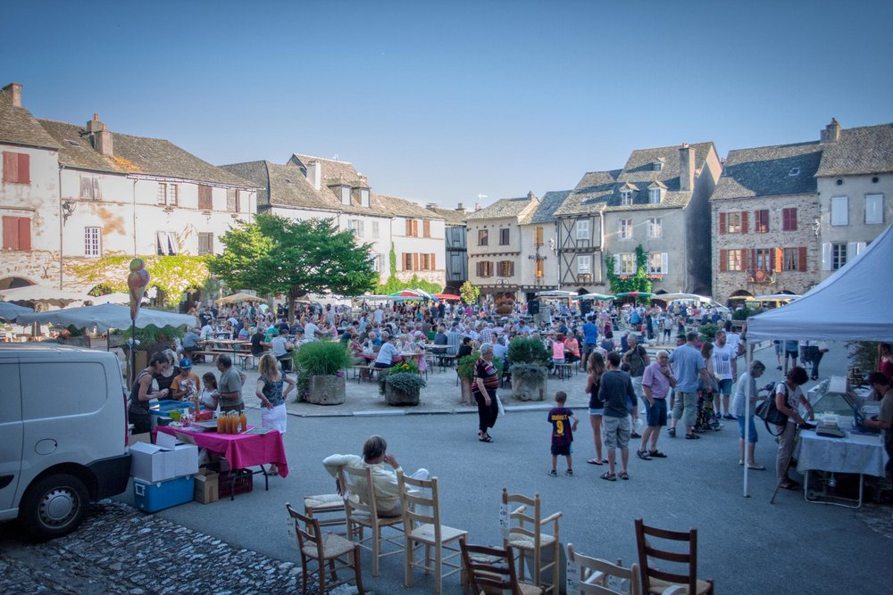 Sauveterre-de-Rouergue Summer Night Market